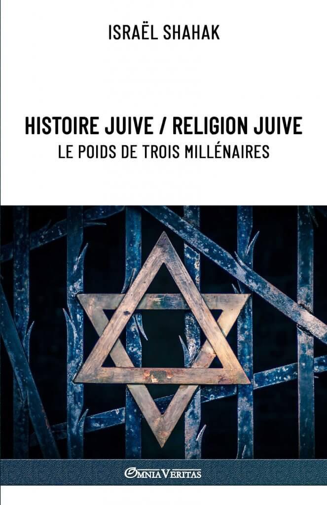 Histoire juive / Religion juive - Le poids de trois millénaires