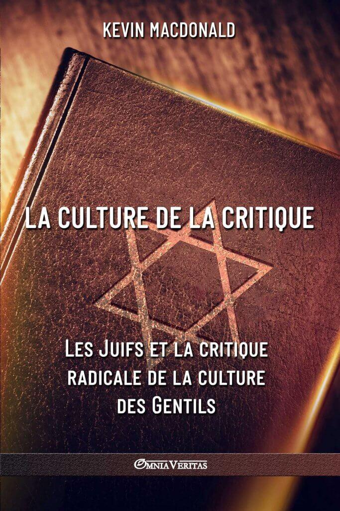 La culture de la critique - Les Juifs et la critique radicale de la culture des Gentils